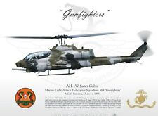 Takara 1/144 WTM World Tank Museum 6 #117 AH-1W Super Cobra Attack Helicopter