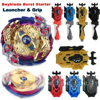 B-97 Beyblade Burst Starter Set Toy Bayblade Top With Grip Launcher Kids Gift .