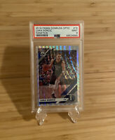 2019-20 Panini Donruss Optic Luka Doncic Fanatics #16 PSA 9 MINT Mavericks