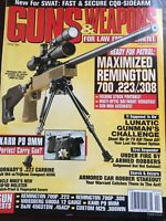Guns And Weapons For Law Enforcement April 2001, Maximized Rem. 700 .223/.308