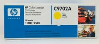 HP C9702A LaserJet 1500 - 2500 Color Yellow Cartridge Factory Sealed