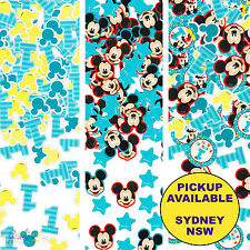 MICKEY MOUSE 1ST BIRTHDAY PARTY SUPPLIES TABLE CONFETTI SCATTERS DECORATIONS