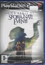 Lemony Snicket Una Serie Di Sfortunati Eventi PS2 Nuovo Sigillato 5030917025402