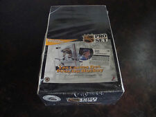 1991-92 Pro Set Hockey Box---Series-1---French---Factory Sealed---36 Packs
