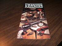 1996 TWEETSIE RAILROAD TIMETABLE AND BROCHURE BLOWING ROCK, NORTH CAROLINA