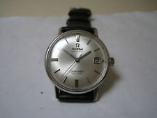 OMEGA SEAMASTER DE VILLE AUTOMATIC DATE STAINLESS STEEL 1966 WATCH