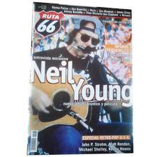 REVISTA RUTA 66 #161 (Mayo 2000) . neil young daevid allen gong zen guerrilla