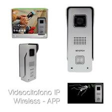 VIDEOCITOFONO IP WI-FI HD INTERNET P2P CLOUD 1MP 720P APP ANDROID IOS SMARTPHONE