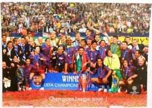 FC Barcelona + Fußball Champions League 2006 Winner + Fan Big Card Edition A151