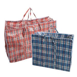 Plastiktasche Jumbo Unterbettkommode Aufbewahrungs Tasche Auswahl XXL XL