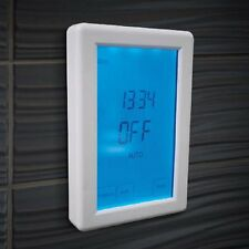 Digital Touchscreen Timer Switch - Vertical Orientation