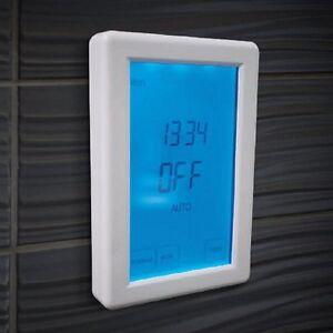 Digital Touchscreen Timer Switch - Vertical Orientation