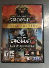 Total War Shogun 2 - 3 Disc-Set Gold Edition Sega Game PC DVD-Rom No Manual