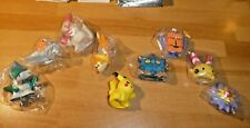 LOT OF 9 PCS POKEMON RARE TOY FIG FIGURE FINGER PUPPET SET NINTENDO BANDAI #101