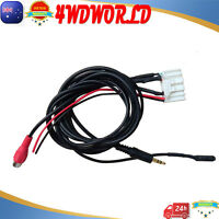 AUX Audio microphone Video cable 10-16 for Toyota Hiace RAV4 Hilux Prado Camry