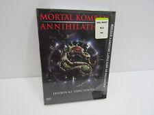 MORTAL KOMBAT ANNIHILATION DVD NEW SEALED