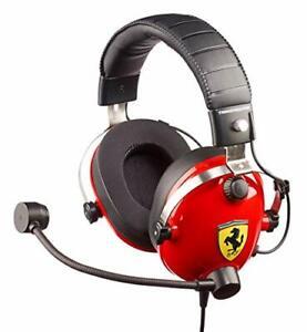 Thrustmaster T-Racing Scuderia Ferrari Edition Gaming Headset  Repair or Spare