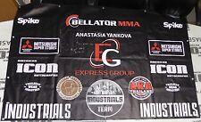 Anastasia Yankova Signed Bellator 152 Fight Used MMA Banner PSA/DNA Autograph