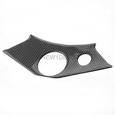 Motorcycle Carbon Look Top Upper Yoke Cover Protector Fit Yamaha YZF R6 99-02 ND