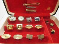 Estate Cuff Links Lot Pins Clips Cufflinks Wear Repair Craft BOX NT INCLUDED L18