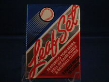 1990 LEAF BASEBALL LOT OF 2 PACKS 1 EACH SERIES 1 & 2 FRANK THOMAS SOSA RC?