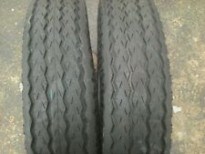 SIX 7x14.5, 7-14.5 Low Boy,RV,Camper,Utility 12 ply Tubeless Trailer Tires