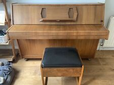 More details for challen upright piano. overstrung 88 notes