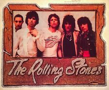 c4e82d027c46 70s GLITTER VTG Rolling Stones Mick Jagger Classic Rock Band nos t-shirt  iron-