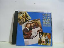 THE MAMAS AND THE PAPAS - GOLDEN GREATS, CD ALBUM, (1986).