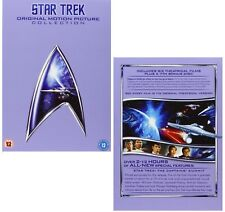 STAR TREK 1979-1991 - MOVIES 1-6 KIRK ORIGINAL SERIES - Remastered UK DVD not US