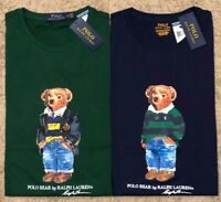 NEW Polo Ralph Lauren BEAR LOGO Tee  RARE T SHIRT SHORT SLEEVE TSHIRT