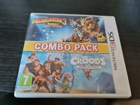 3DS - COMBO PACK MADAGASCAR 3 + THE CROODS NINTENDO 3DS 2DS