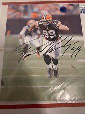 Paul Kruger Cleveland Browns Signature