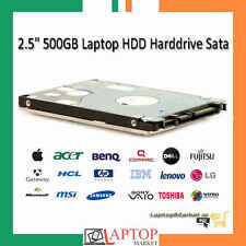"Laptop 500GB 2.5"" SATA Hard Drive Notebook Internal HDD Warranty"