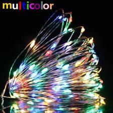 1-12 PCS 2M 20 LED Wine Bottle Fairy String Light Cork Starry Night Xmas Wedding