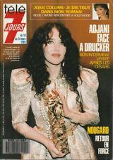 Télé 7 Jours N° 1503/1989 - Adjani Joan Collins Nougaro Bébête Show Simenon