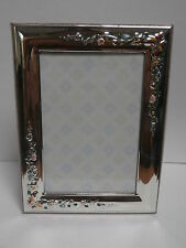 Cornice portafoto argento silver frame Valenti & Co 9x13 bambina bimba sterling