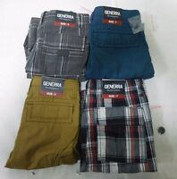 NEW Generra Boy's  Adjustable Waist Cargo Shorts - VARIETY