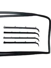 1987 -1996 Ford F150,F250,F350 Pickup Truck, Bronco Door Window Weatherstrip Kit