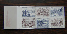 Sweden 1984 Old Towns Booklet MNH