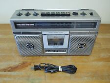 Vintage Sharp Stereo Radio Tape Recorder Boombox Model No. GF-5050