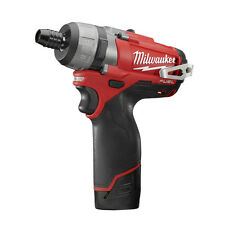 "Milwaukee 2402-22 M12 FUEL™ 1/4"" Hex 2-Speed Screwdriver Kit"
