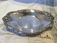 Good Quality Heavy Small Silver Plated Tray / Dish / Plate Biscuits, Bonbons