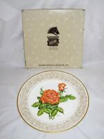 """Boehm, Rose Plate Collection, 1979, LE, THE TROPICANA ROSE Plate, w/Box, 10 3/4"""""""