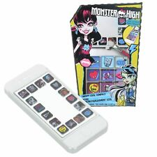 Monster High Compact Mirror Phone Shape Eyeshadow Slide Palette White Case