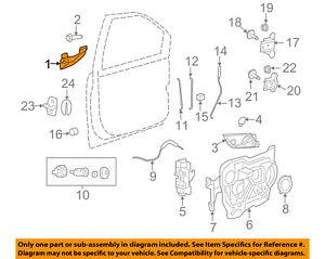 VW VOLKSWAGEN OEM 09-11 Routan-Outside Exterior Door Handle Left 7B0837205ACXG0