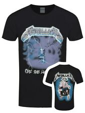 Metallica T-shirt Ride The Lightning Men's Black
