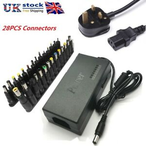 28 Tips 96W Universal Multi  Adapter AC DC Power Supply Charger Laptop Notebook