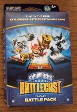 NEW Skylanders 22-Card Battlecast Battle Pack - Trigger Happy, Hex & Smash Hit
