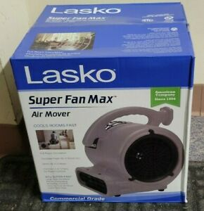LASKO Super Fan Max Commercial Grade High Velocity Air Mover Fan Dryer w/ outlet